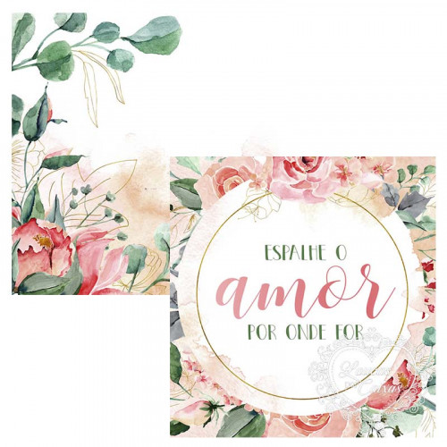 Card - Espalhe o amor por onde for