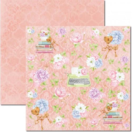Papel para Scrapbook Dupla Face - Book 2 - 30,5x30,5