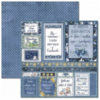 Papel Inverno Tags - 180g Dupla Face 30...