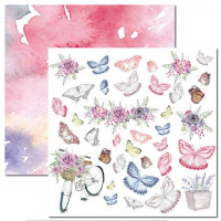Papel Butterfly 10 - 180g Dupla Face 30...