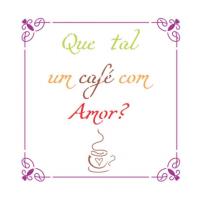 Stencil Que tal um café - 13x17..