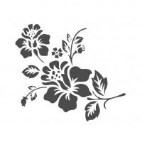 Stencil Flores - 15x15..