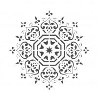 Stencil Mandala - 15x15..