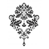 Stencil Arabesco - 15x15..