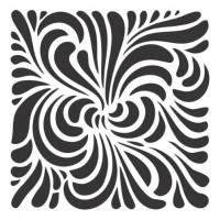 Stencil Fundo - 15x15..