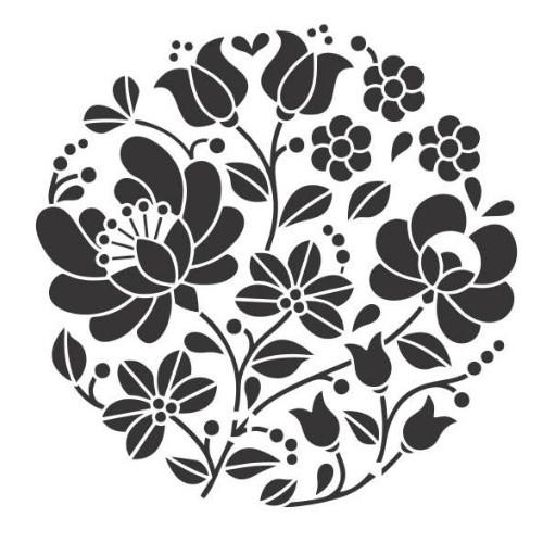 Stencil Mandala - 15x15