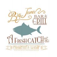 stencil big tuna - 18x23..