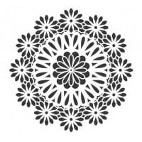 Stencil Mandala - 18x23..