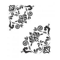 Stencil Cantoneira - 18x23..