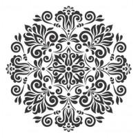 Stencil Mandala - 25x25..