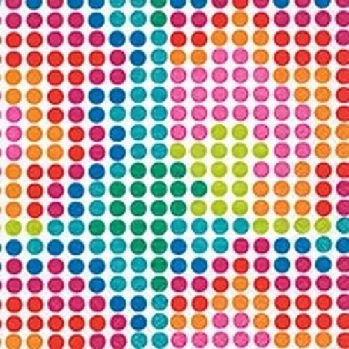 guardanapo bolas coloridas mosaico - 2 unid