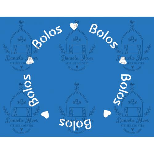 Stencil Bolos - 18x24 cm
