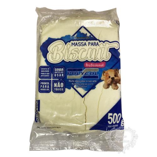 Massa para Biscuit Natural 500g