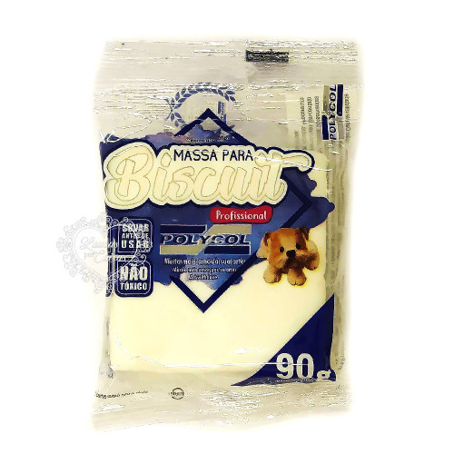 Massa para Biscuit Natural 90g