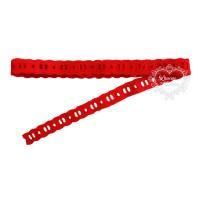 Passa-Fitas 2 cm - 2 metros - Vermelho..