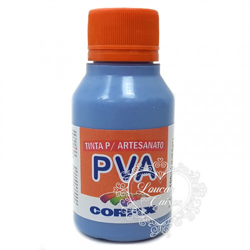 Tinta PVA CORFIX 100ML - AZUL COUNTRY