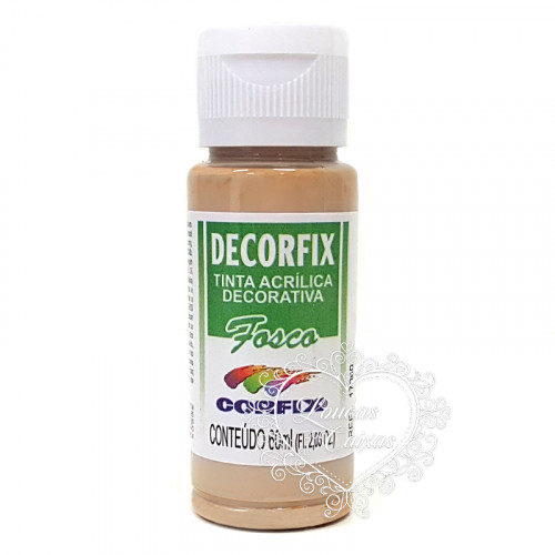 Tinta Acrílica fosca DECORFIX - 60ML - DUSTY ROSE