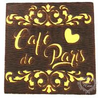 Molde de EVA Alto Relevo P - Café De Par..