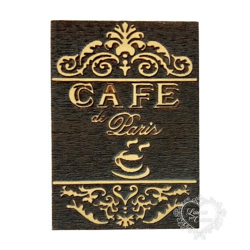 Molde de EVA Alto Relevo M - Café Paris