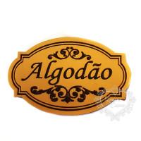 Molde de EVA Baixo Relevo M - Algodão..