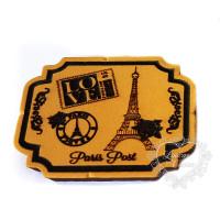 Molde de EVA Baixo Relevo P - Paris Post..
