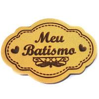 Molde de EVA Baixo Relevo P - Meu Batism..
