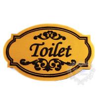 Molde de EVA Baixo Relevo M - Toilet..
