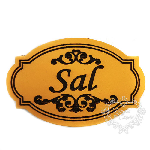 Molde de EVA Baixo Relevo M - Sal