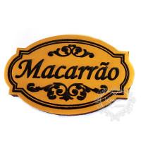 Molde de EVA Baixo Relevo M - Macarrão..