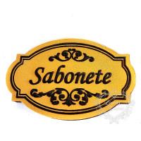 Molde de EVA Baixo Relevo M - Sabonete..