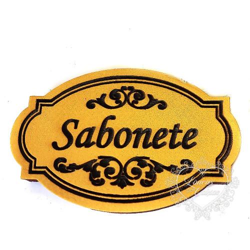 Molde de EVA Baixo Relevo M - Sabonete