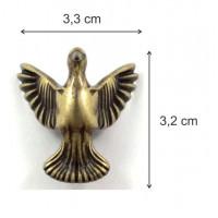 Pé Pássaro - 4 Unid - Ouro Velho..