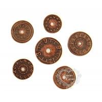 Kit Ferragens Relógios - 6 unidades - Co..