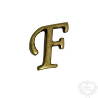 Letra F - Ouro Velho..