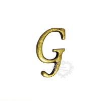 Letra G - Ouro Velho..
