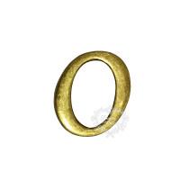Letra Metal Ouro velho - O..