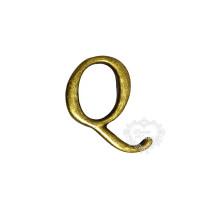 Letra Q - Ouro Velho..