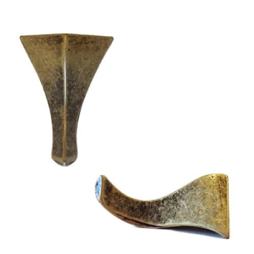Pé Tromba De Elefante Para Caixas Mdf - 4 Unid - Ouro Velho