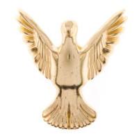 Pé Pássaro - 4 Unid - Dourado..