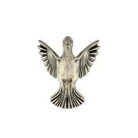 Pé Pássaro - 4 Unid - Prata..
