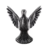 Pé Pássaro - 4 Unid - Prata Velho..