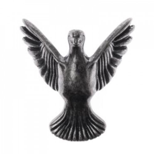 Pé Pássaro - 4 Unid - Prata Velho