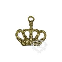 Coroa Pingente P - Kit Com 10 Un - Doura..