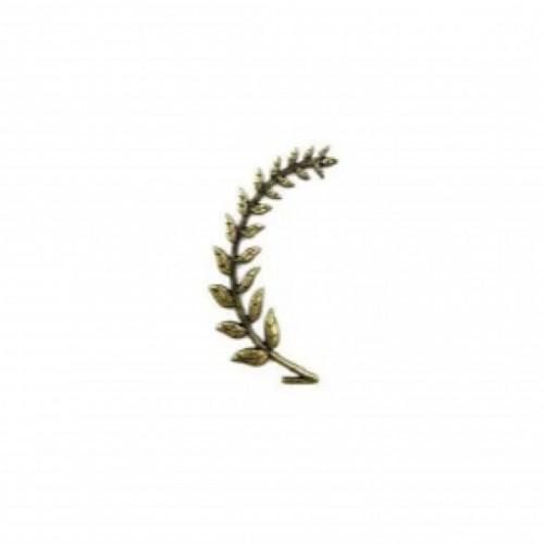 Coroa De Louro P - 4 Unid. - Ouro Velho
