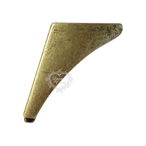 Pé Barbatana Para Caixas - 4 Unid - Ouro Velho