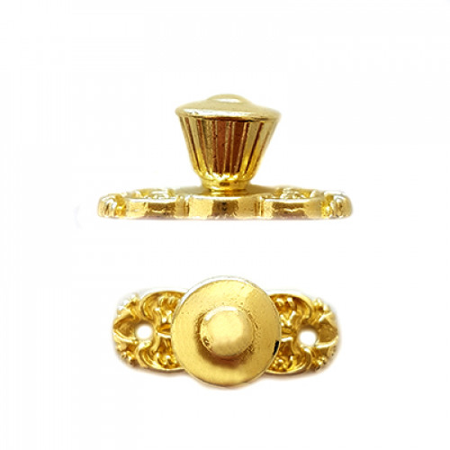 Puxador Colônial - 2 Unid - Dourado