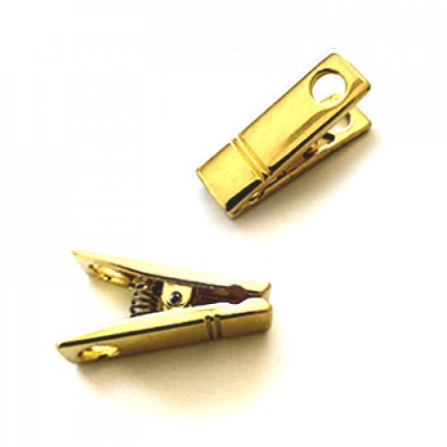 Prendedor - 3 Unid - Dourado
