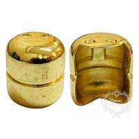 Pezinho Botijão 17X20 - 4 Unid - Dourado..