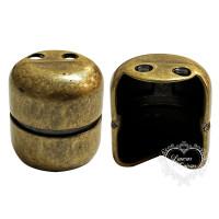 Pezinho Botijão 17X20 - 4 Unid - Ouro Ve..
