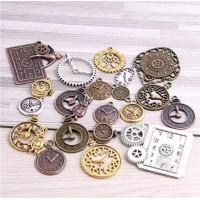 Mini Relógios em Metal Sortidos Steampun..